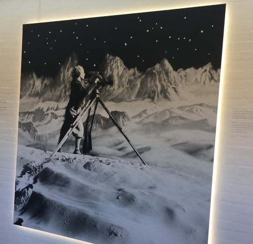 A Piece from 'The Moon' Exhibition